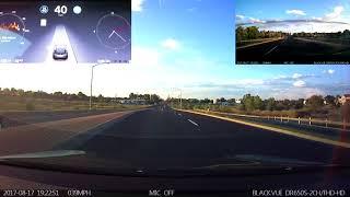 Download Tesla Autopilot Firmware ″2017.28 c528869″ Demo/Test Local Road Daytime Video
