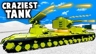 Download CRAZIEST LEGO Russian TANK Ever Made DESTROYS Army Invasion! (Brick Rigs Gameplay) Video