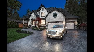 Download 12652 24 Avenue, Ocean Park, South Surrey - Luxurious Estate Property on 1/2 Acre Video