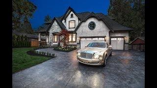 Download 12652 24 Avenue, Ocean Park, South Surrey - Luxurious Estate Property on 1/2 Acre Video