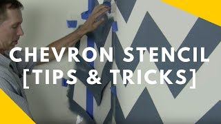 Download Chevron Stencil Tips and Tricks Video