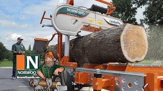Download Norwood LumberPro HD36 Portable Band Sawmill - Manual or Hydraulic ... It's Your Choice! Video