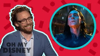 Download Tom Hiddleston Answers All of Our Questions About Loki | Oh My Disney Show by Oh My Disney Video
