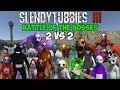 Download TWO MORE INCREDIBLE SHOWDOWNS | SLENDYTUBBIES 3 BATTLE OF THE BOSSES 2 VS 2 TEAM TOURNAMENT Video
