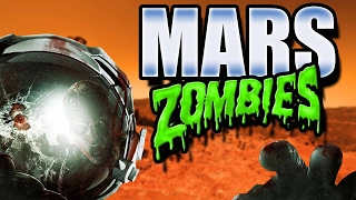 Download Forget Moon! Let's Go To MARS! MARS ZOMBIES w/ CRAZY GUNS!! (Black Ops 3 Custom Zombies) Video