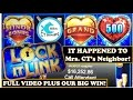 Download *GRAND JACKPOT HANDPAY* Lock it Link Slot Machine - Sharing Lucky Karma! Video