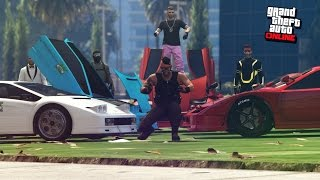 Download BATALLA DE COCHES TUNEADOS VS SUSCRIPTORES - ″Lamborghinis Vs Ferrarris″ Video