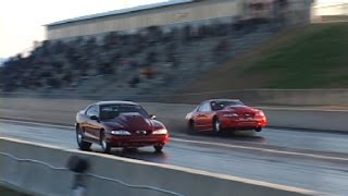 Download NEVER GIVE UP - 3000hp Twin Turbo Mustang comeback(original footage) Video