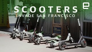 Download Scooters Invade San Francisco Video