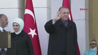 Download Recep Tayyip Erdogan schickt Soldaten: Türkei wird eine macht am Persischen Golf Video
