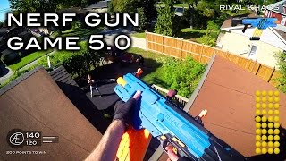 Download Nerf meets Call of Duty: Gun Game 5.0 | First Person in 4K! Video