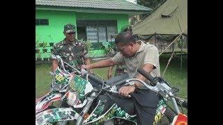 Download Para prajurit tak menyangka PANGDAM cek motor langsung geber ke jalan Video