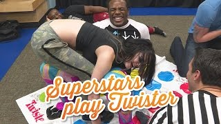 Download Things get weird when WWE Superstars play Twister: WWE Game Night Video