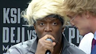 Download [FULL VIDEO] KSI VS. LOGAN PAUL PRESS CONFERENCE! **insanity** Video