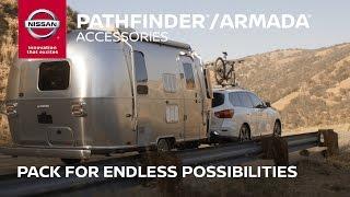 Download 2017 Nissan Pathfinder / Armada Accessories | Pack for Big Adventures Video