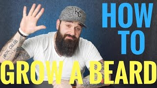 Download How to grow a beard   5 Things EVERY beginner should know!! Video