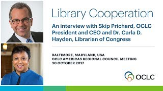 Download Dr. Carla D. Hayden on the need for constant change in libraries Video