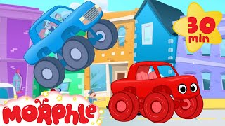 Download The Sticky Truck Chase With Morphle! Truck video for kids. (animation cartoon) Video