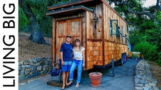 Download Beautifully Handcrafted Heirloom Tiny House Video
