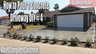 Download How to Pour a Concrete Driveway DIY #4 Video