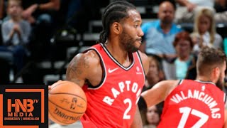 Download Toronto Raptors vs Utah Jazz Full Game Highlights | 02.10.2018, NBA Preseason Video