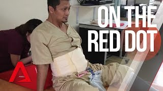 Download CNA   On The Red Dot   S7 E07 - Getting back up after a serious injury Video