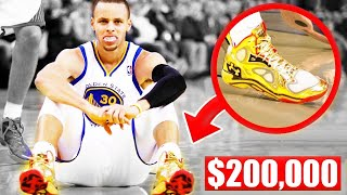 Download The Most Expensive Shoes Worn In An NBA Game - Stephen Curry | LeBron James | Kobe Bryant Video