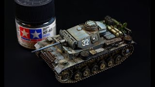 Download Panzerkampfwagen PzKpfw III Ausf.L 1/72 Revell - Tank Model Video