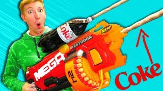 Download Nerf War: COKE NERF Modification - NERF MOD Challenge IRL 2018 Video