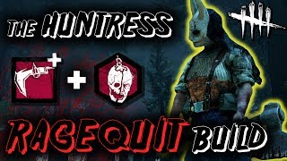 Download The Huntress OP RAGEQUIT Build! - Dead by Daylight with HybridPanda [New DLC] Video