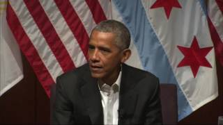 Download Obama makes first post-presidency appearance Video