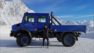 Download MEET THE LARGEST MERCEDES EVER! *MODIFIED UNIMOG* Video