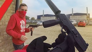 Download Airsoft War - Gang Turf War Video
