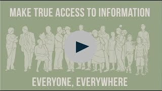 Download Access to Information... A universal right Video