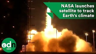 Download NASA launches satellite to track Earth's climate Video