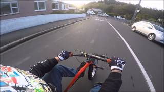 Download Drift trike-steepest street in the world Video