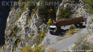 Download EXTREME TRUCK DRIVERS , DANGEROUS ROAD MERCEDES ACTROS V8 Video