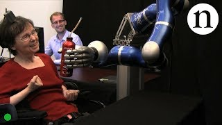 Download Paralysed woman moves robot with her mind - by Nature Video Video