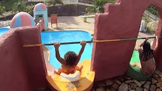 Download Scary Drop Water Slide at Acquamania Video