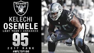 Download #95: Kelechi Osemele (OL, Raiders) | Top 100 Players of 2017 | NFL Video