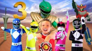 Download POWER RANGERS NINJA KIDZ 3! Rise of the GREEN RANGER! Video