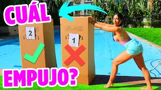 Download No empujes la CAJA INCORRECTA a la piscina - LANZAMOS UN IPHONE XS 😱| Mariale Video