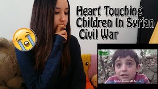 Download Heart Touching Children In Syrian Civil War- Share If You Care REACTION Video
