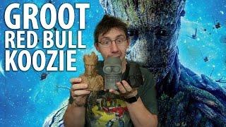 Download 3D Printing a Groot Red Bull Koozie! Timelapse! Video