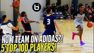 Download 5 TOP 100 PLAYERS ON ONE TEAM?! UK Commit Ashton Hagans Leads Game Elite GOLD! Video