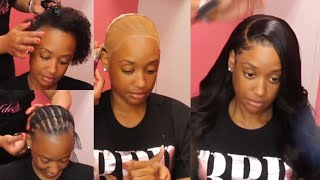 Download Caramel Lace Frontal Start to Styled by @TTDoesitAll Video