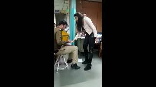 Download Rich Delhi girl drunk#police station#full on gaali Video