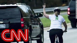 Download Woman who flipped off Trump runs for office Video