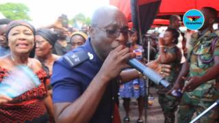 Download SP Kofi Sarpong performs to console widow of Major Maxwell Mahama Video