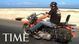 Download Cuba & Harley-Davidson: A Rocky Love Affair   TIME Video